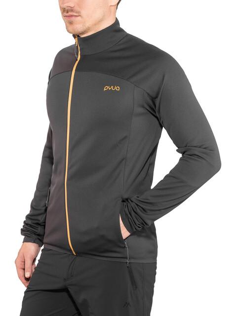 PYUA Gleam-Y Fleece Jacket Men almost black